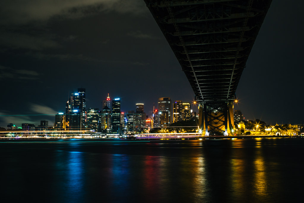Sydney Harbour long exposure