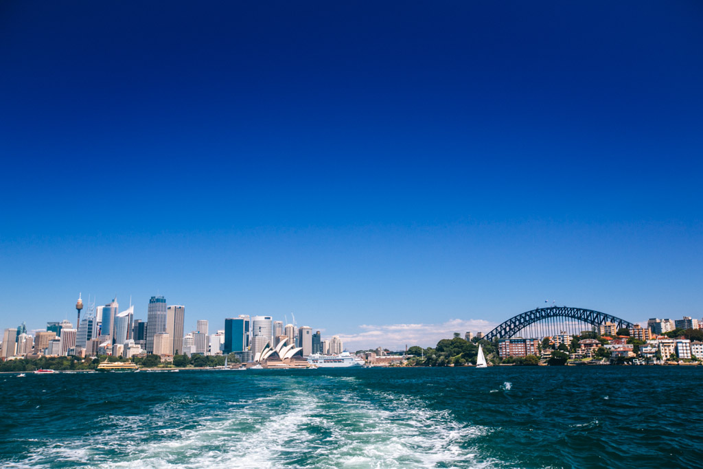 View from Sydney ferry