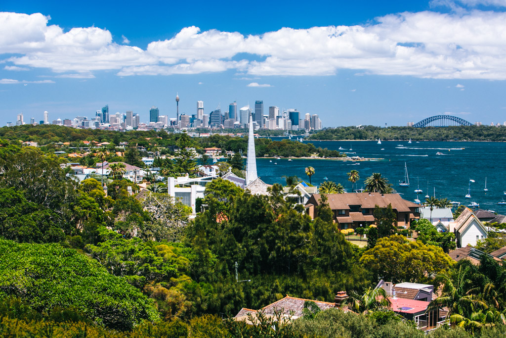 View of Sydney from Gap Park