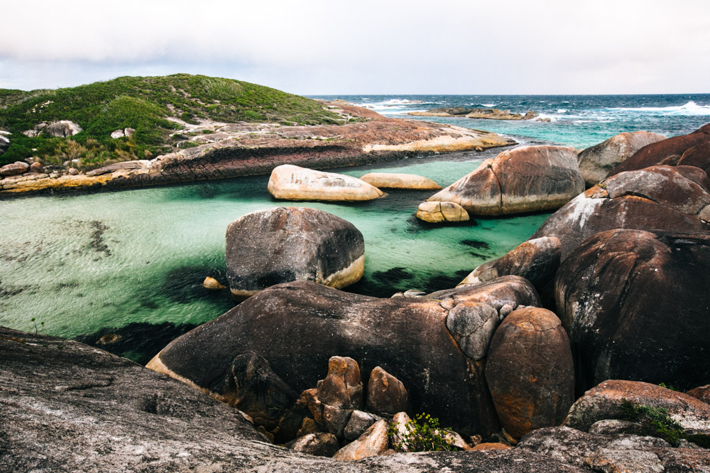 Elephant Rocks in Denmark, Australia