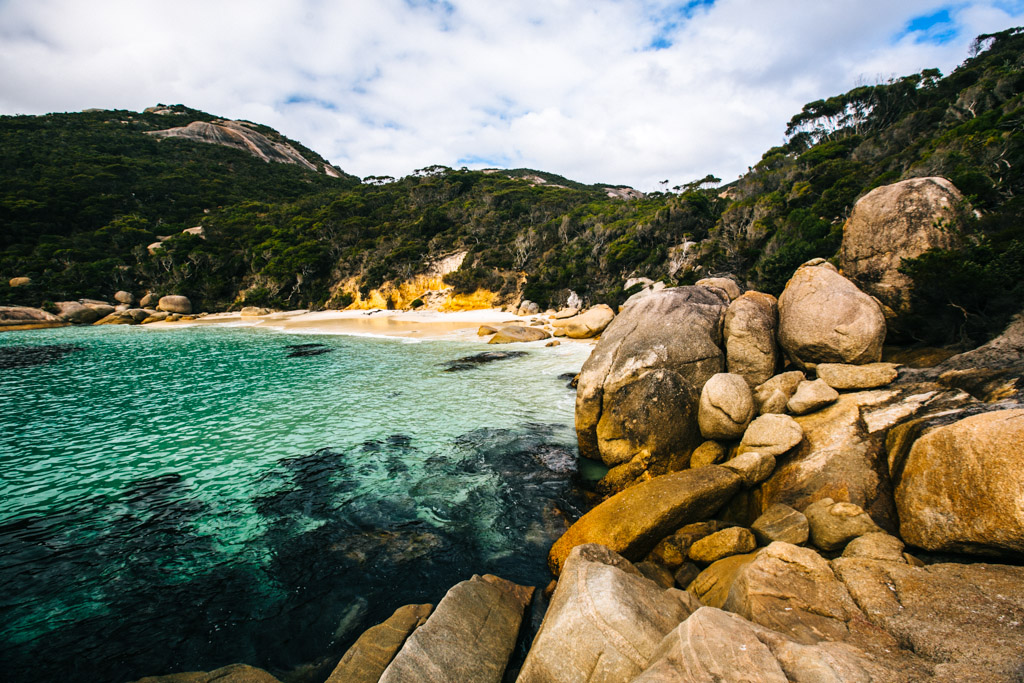 Waterfall Beach in Albany, Australia