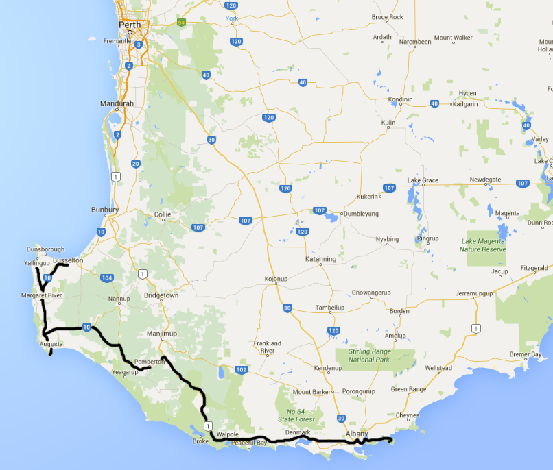Southwest Australia roadtrip