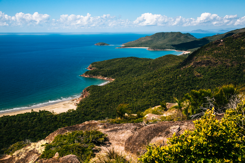 View from Nina Peak, Hinchinbrook Island