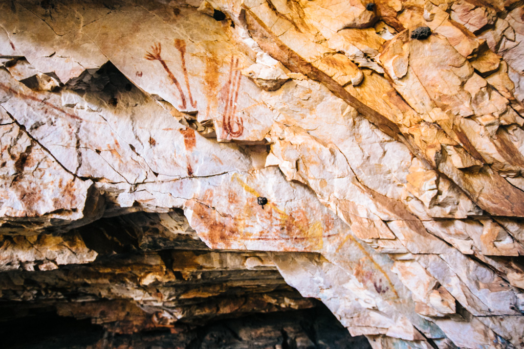 Kimberley aboriginal rock art