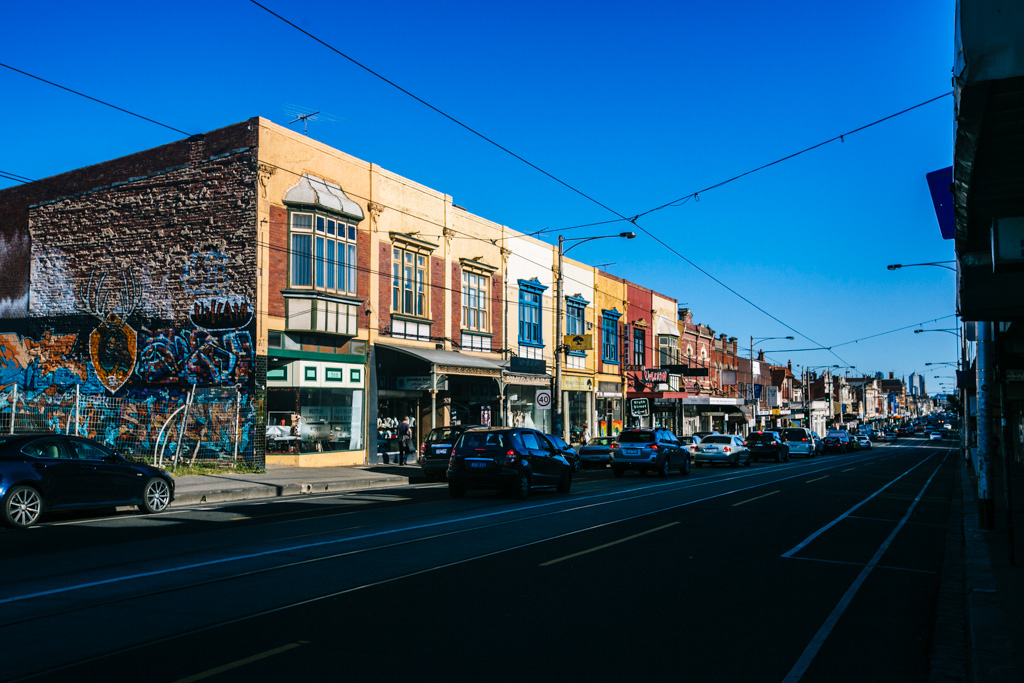 Sydney Road in Brunswick, Melbourne
