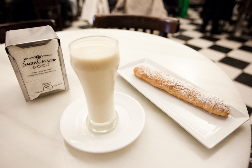 Horchata in Valencia, Spain
