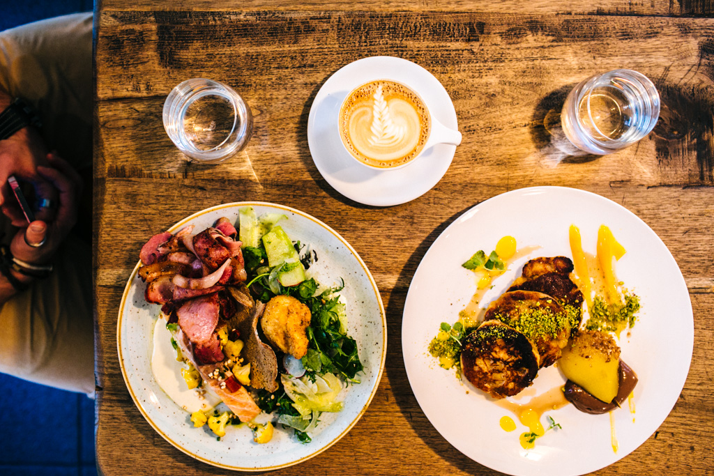 Brunch at The Grain Store in Melbourne