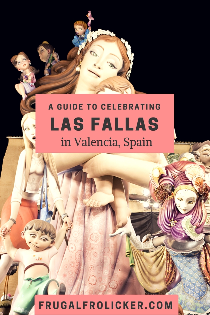 Celebrating Las Fallas in Valencia, Spain