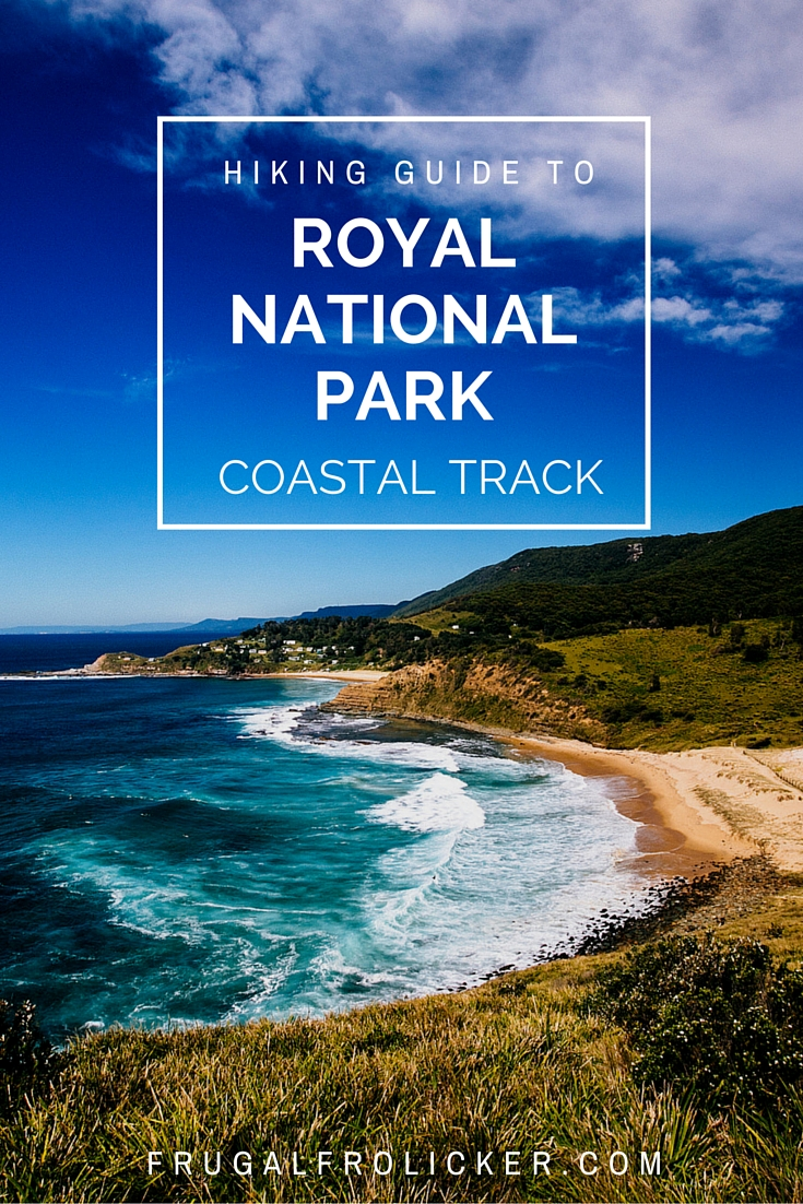 Royal National Park Coastal Walk near Sydney, Australia