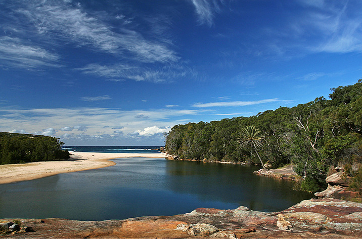 Wattamolla in Royal National Park