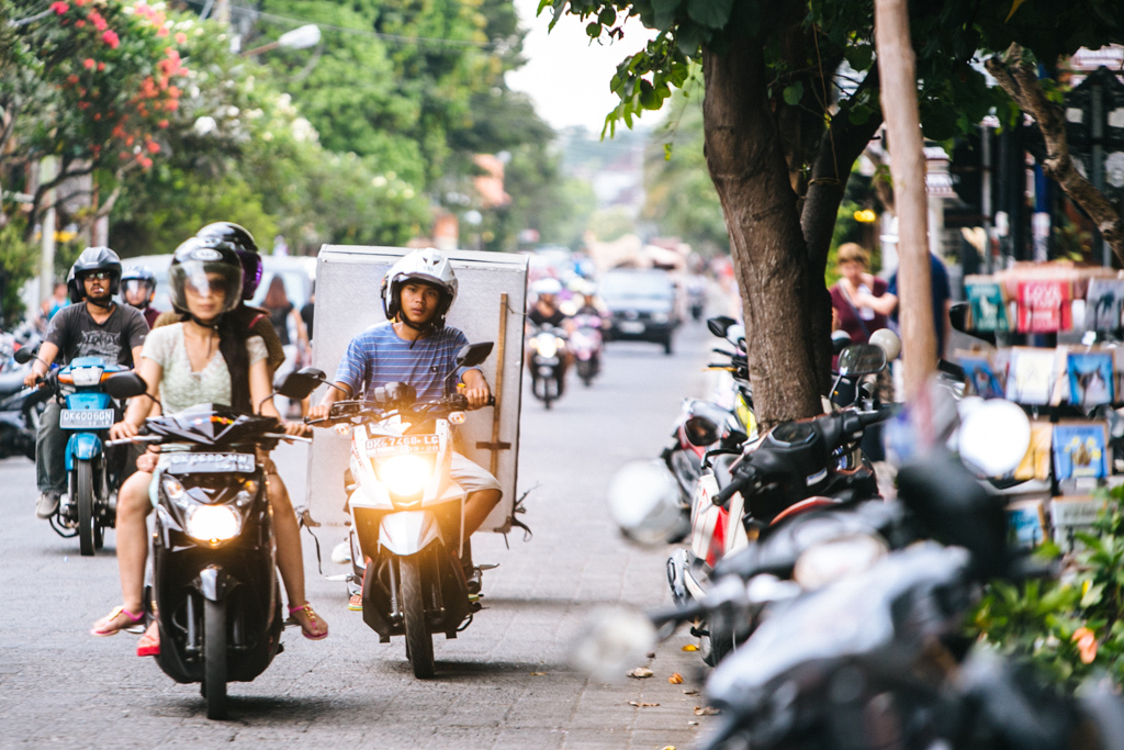 Bali motorbikes