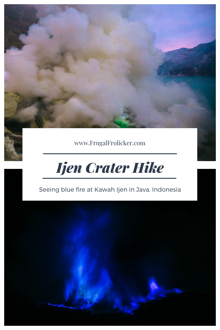 Ijen Crater Hike / Kawah Ijen Hike - Java, Indonesia