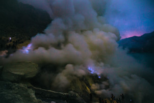 Ijen Crater hike