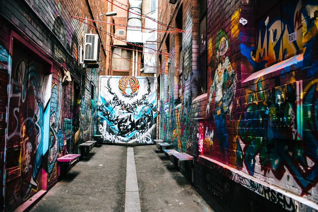 Best street art in Melbourne CBD
