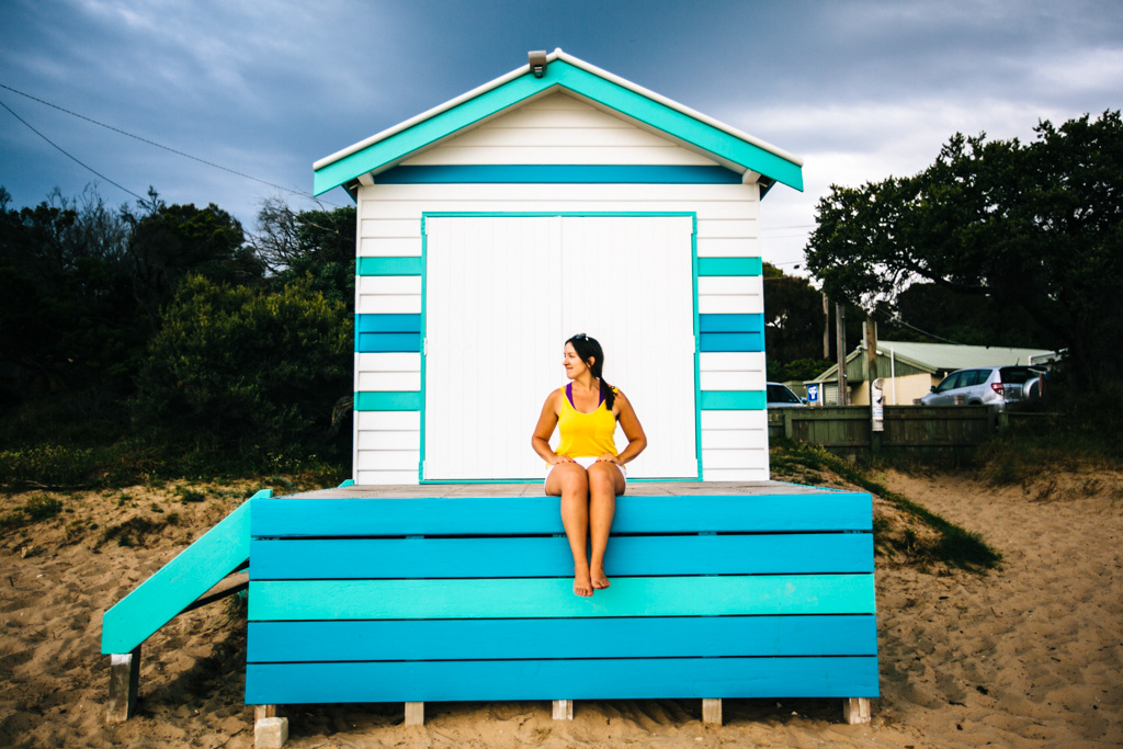 Mornington bathing boxes