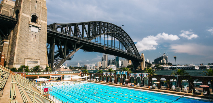 Sydney Harbour pool