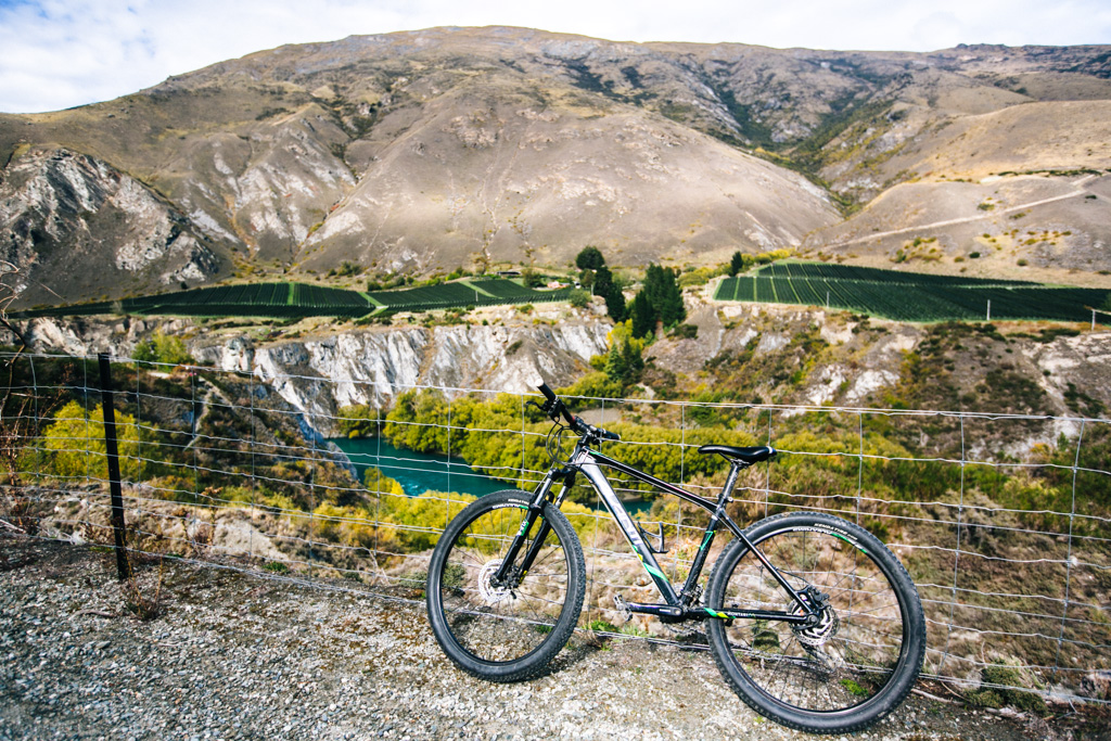 Cycling Queenstown
