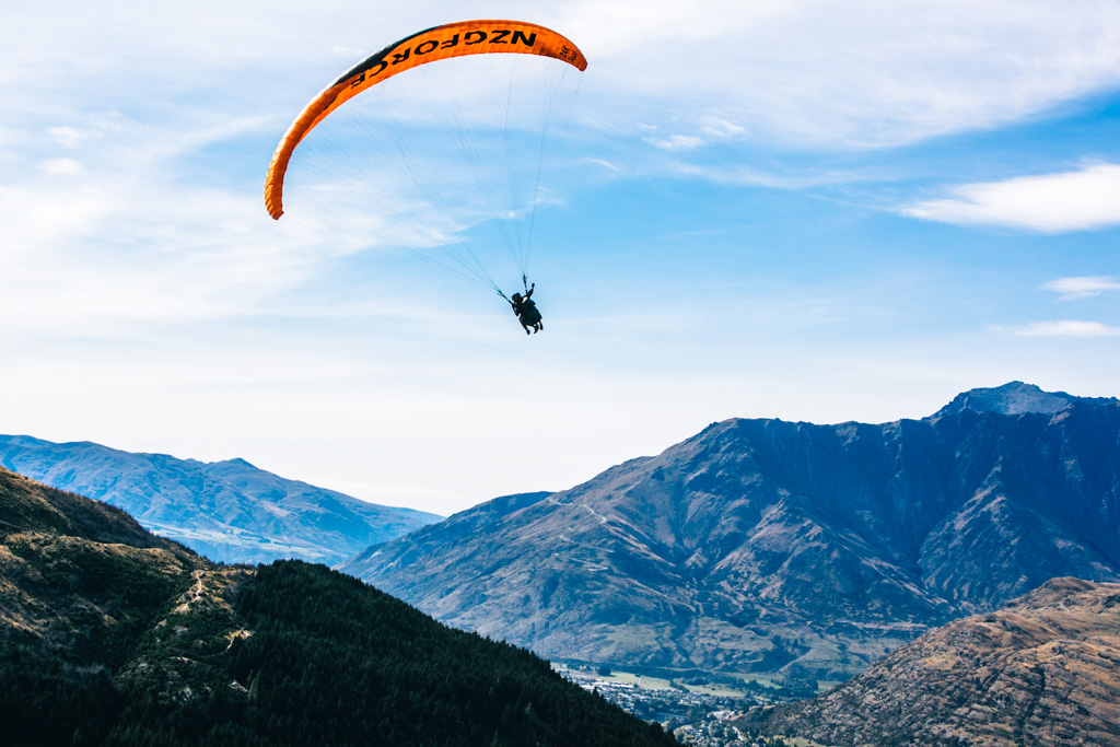 Paragliding in Queenstown NZ