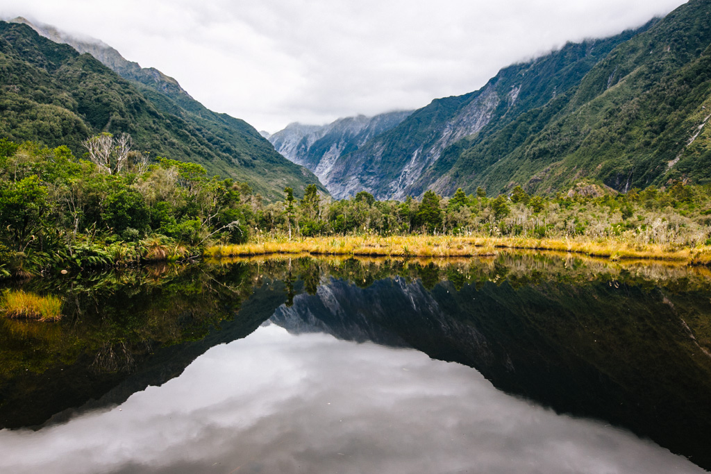 NZ lake reflection