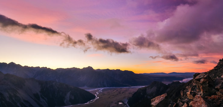 Sunrise at Mt. Cook