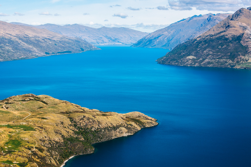 scenic flight from queenstown