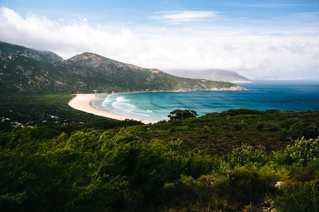 Tidal Overlook walk, Wilsons Prom