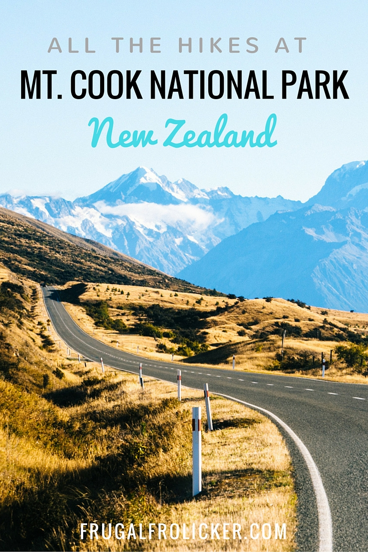 HIkes in Mt. Cook National Park