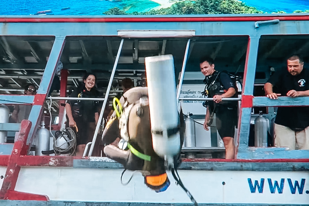 koh tao open water diving
