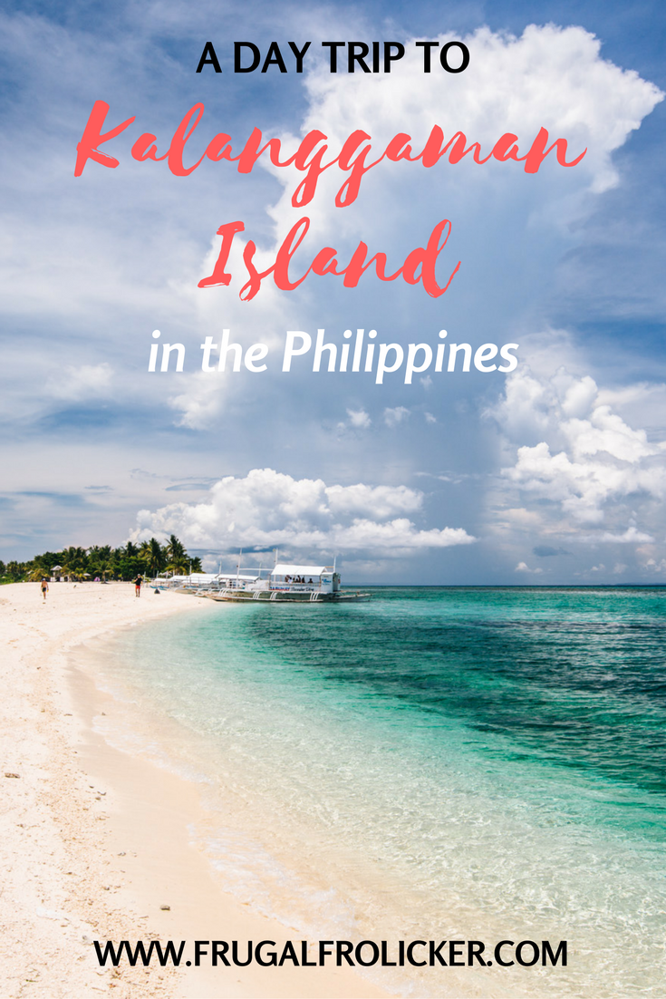 Kalanggaman Island in the Philippines