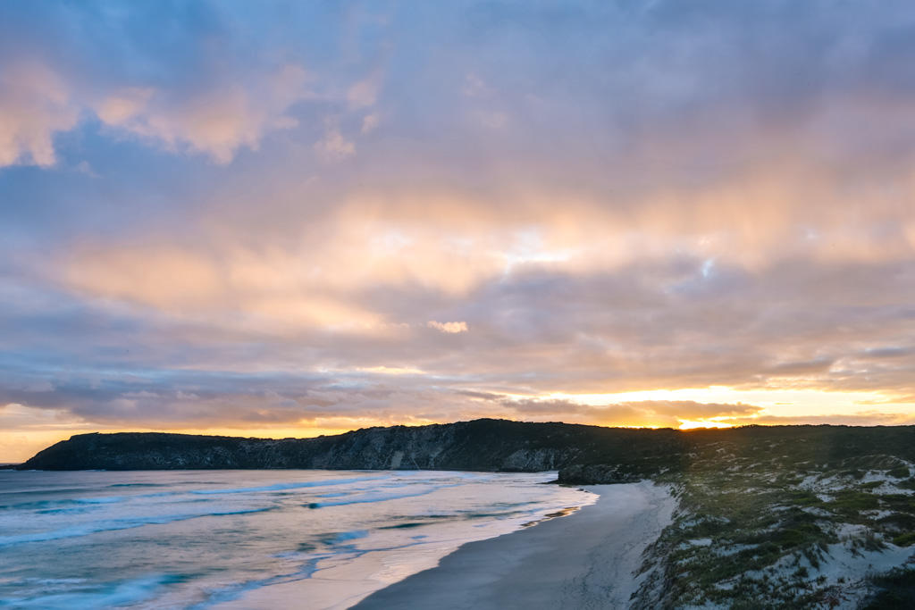 kangaroo island sunset