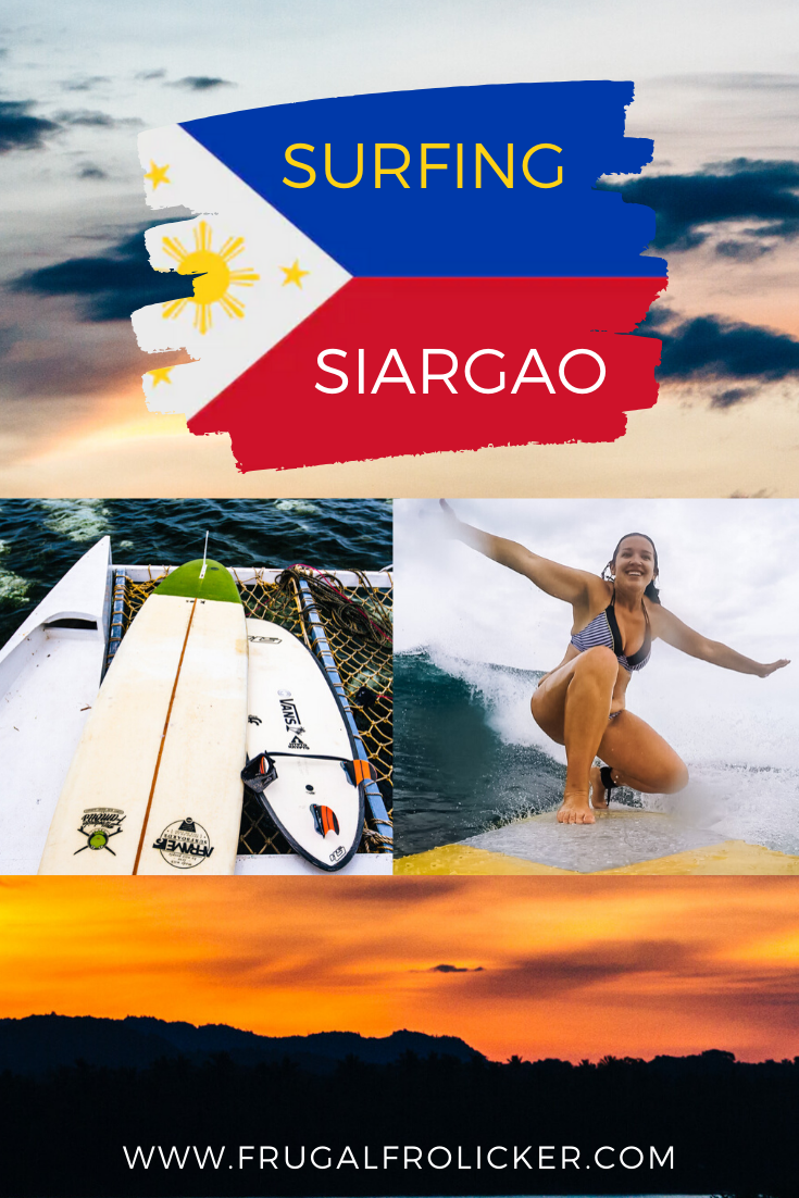 Surf lessons in Siargao, Philippines