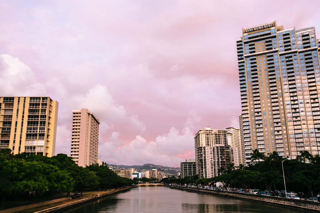 honolulu sunset