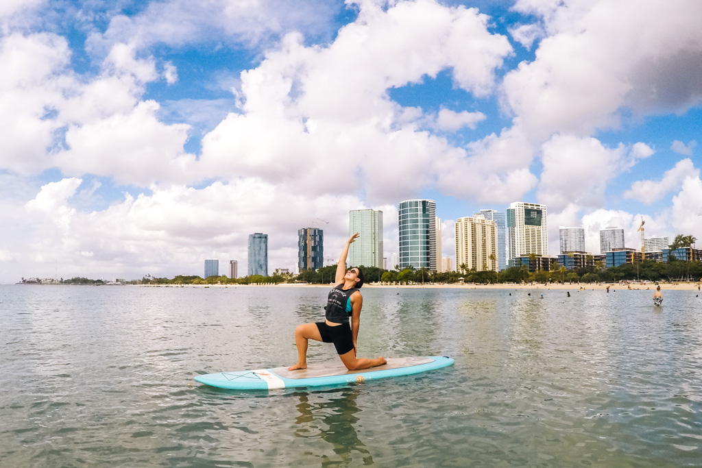 sup yoga hawaii