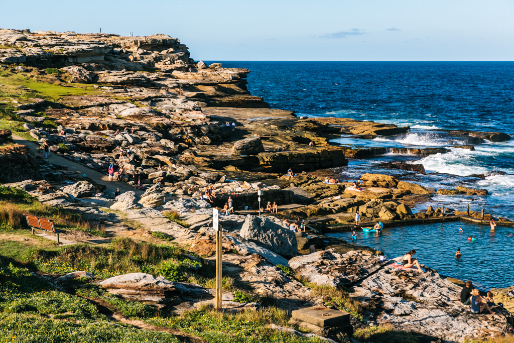 coastal walk coogee to maroubra