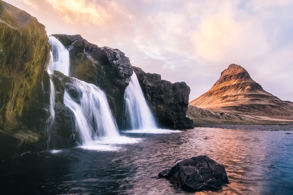 best waterfall in iceland