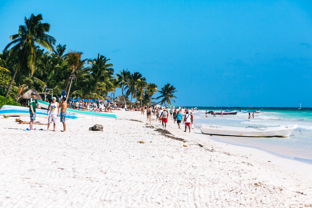 getting around tulum without a car