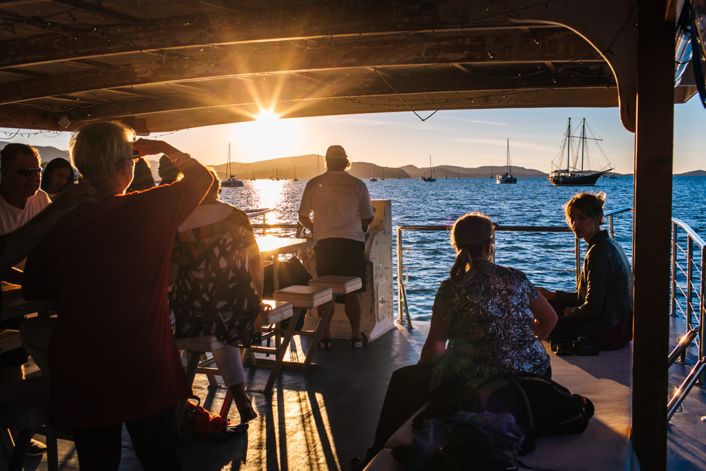 whitsundays sunset cruise