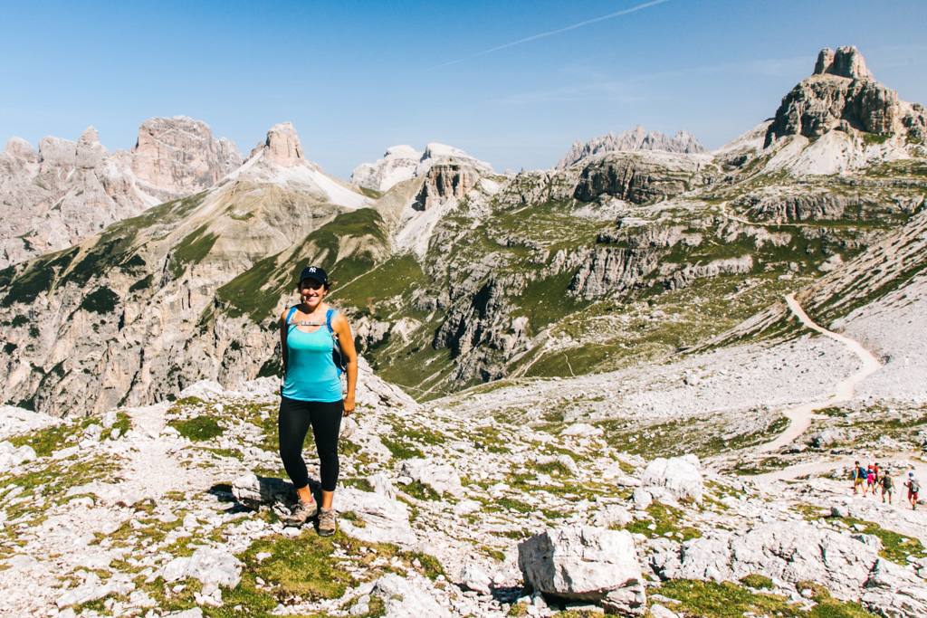 best day hikes dolomites