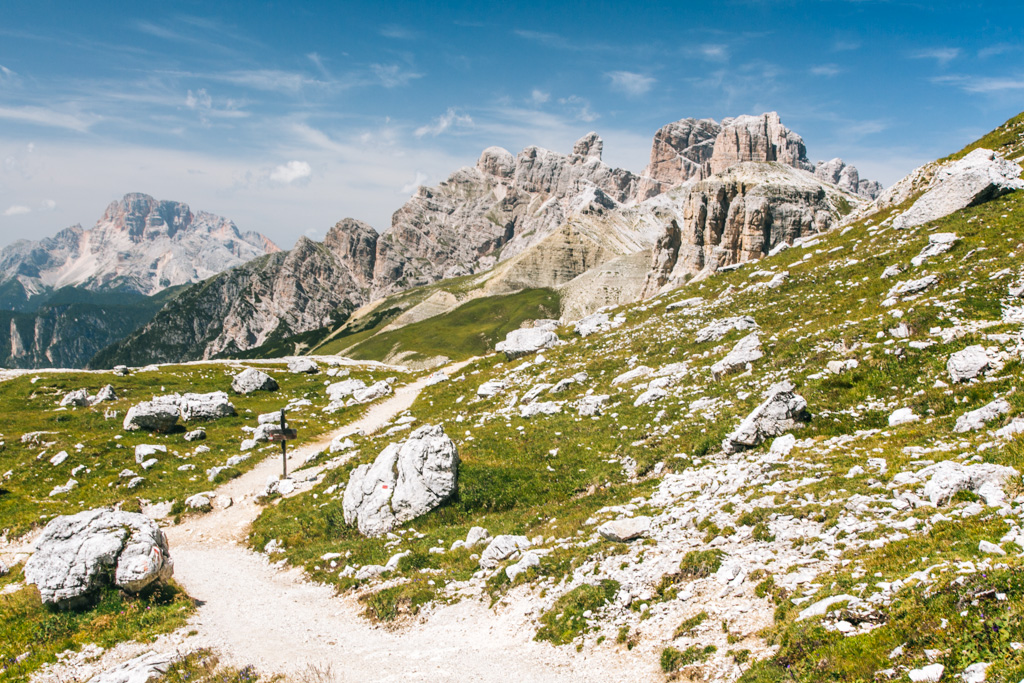dolomites day hike