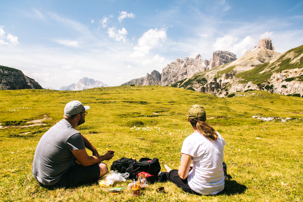 best hikes sin the dolomites