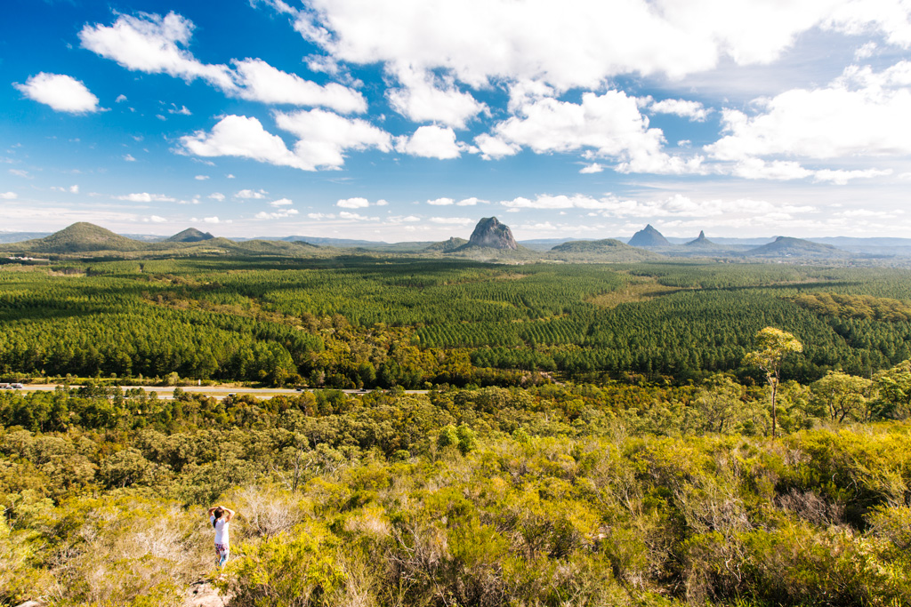 glass house mountains lookout
