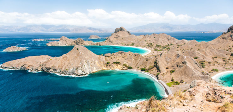 Stunning view in komodo | Amazing Hiking Trails You Have To See To Believe
