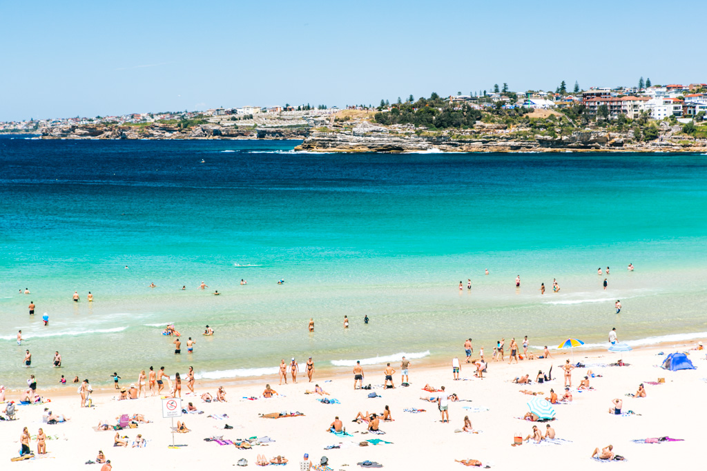 bondi beach travel blog