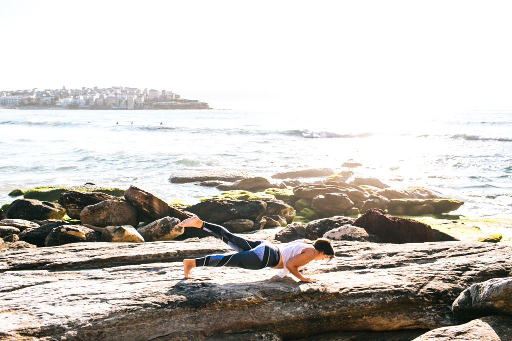 bondi beach yoga