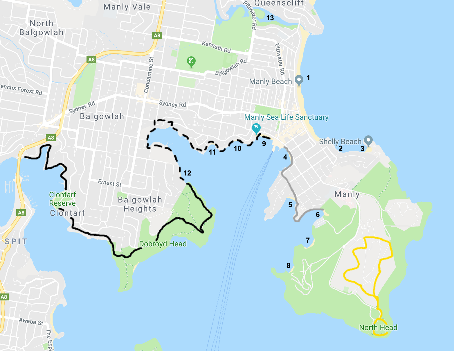 manly map