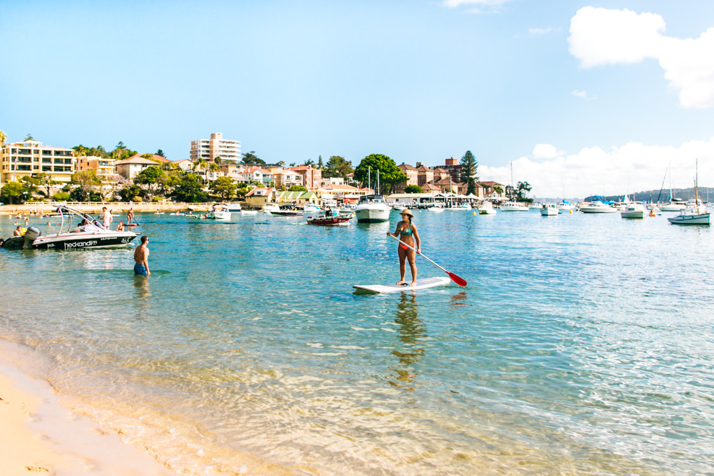 stand up paddle sydney