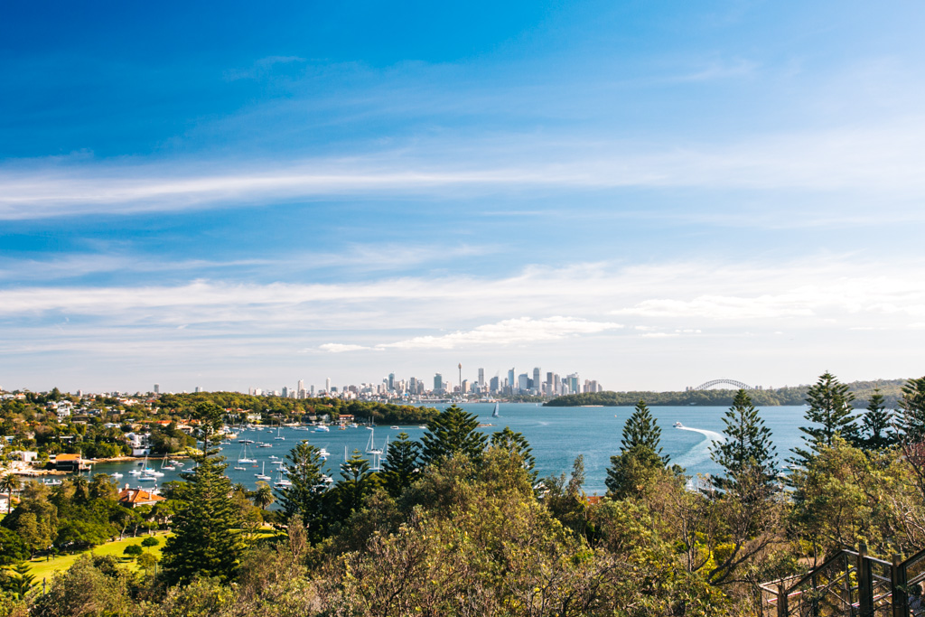 sydney harbour from watsons bay