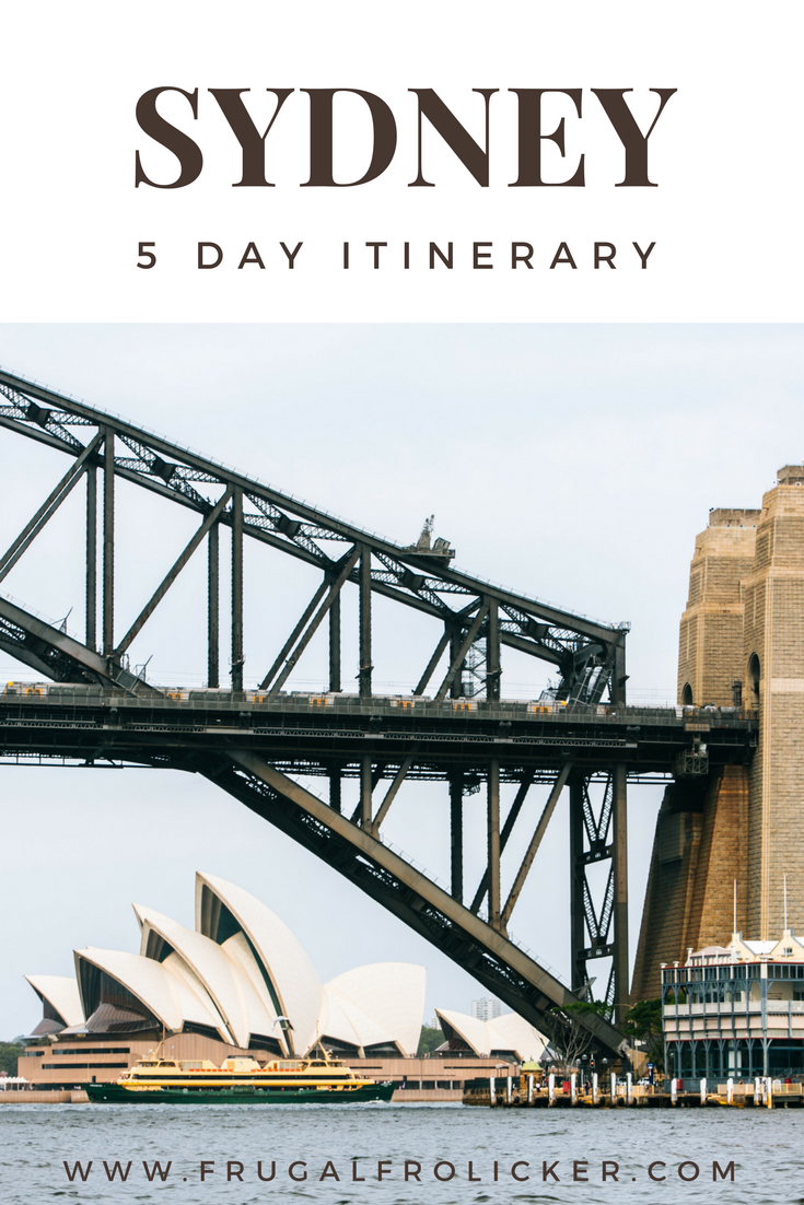 5 Days in Sydney - Itinerary