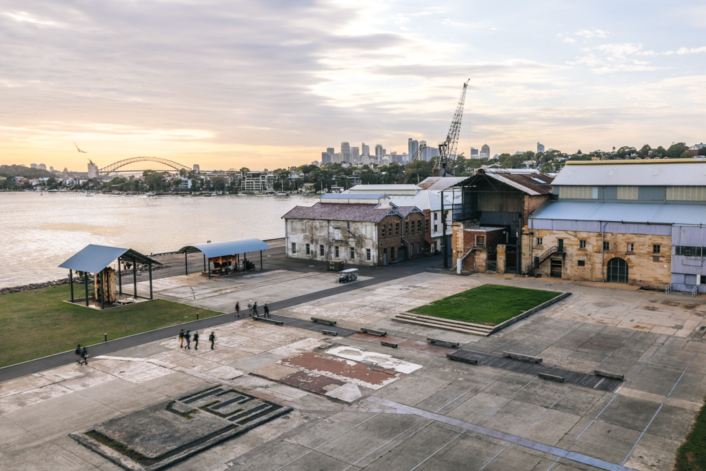 cockatoo island sunrise