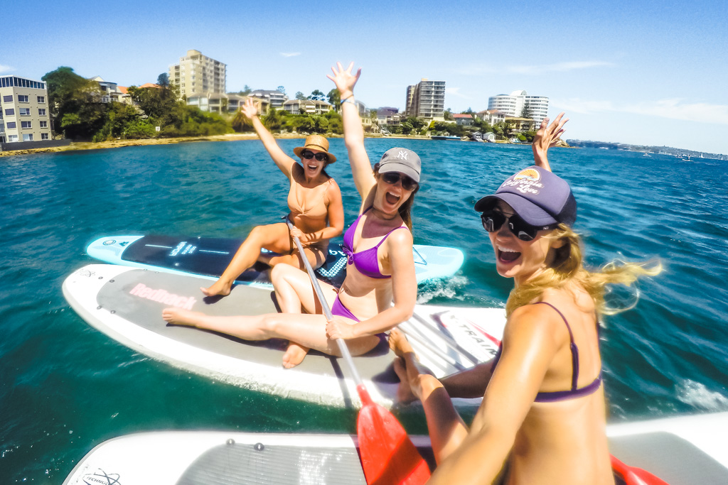 stand up paddleboard sydney